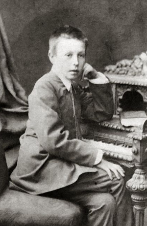 少年時代のラフマニノフ