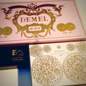 チョコレートの美しい箱