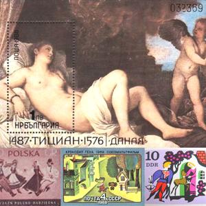 味わい深い外国切手