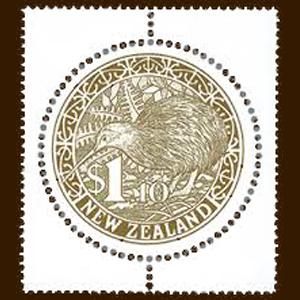 めずらしい丸型の切手